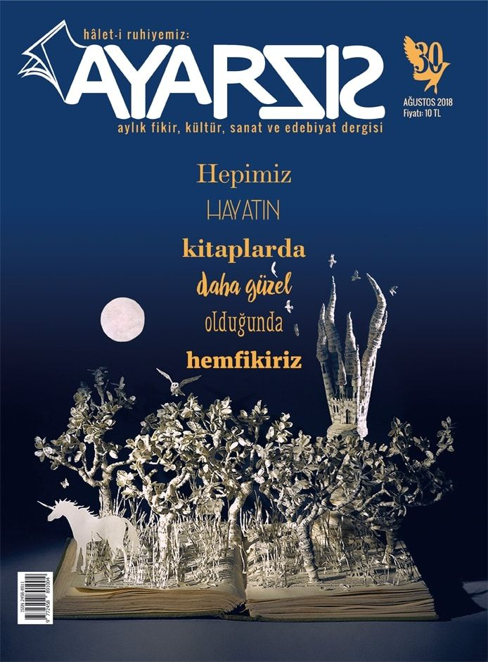 Ayarsız Dergi Ağustos 2018  Sayı